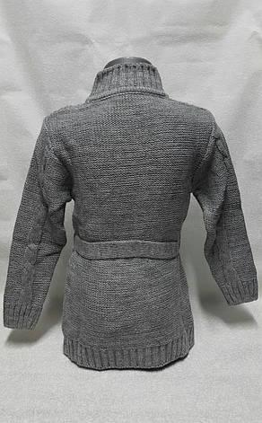 Кардиган вязанный для девочек Турция размеры 92,98,104 роста , фото 2