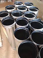 Дымоходные трубы одностенные из нержавейки 0.5mm (AISI 430) Ø 100