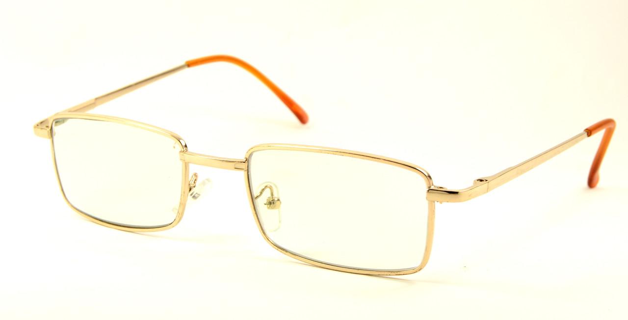 Компьютерные очки в металле (9033)