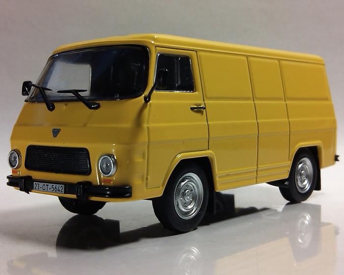 Автолегенды №170 ROCAR TV12F (Румыния) оранжевый | Коллекционная модель 1:43 | DeAgostini