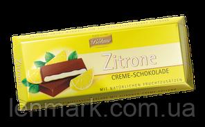 Шоколад черный Böhme Zitronen Creme Schokolade с лимонной начинкой, 100 г