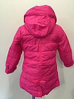 Куртка бантик розовые р.116-140