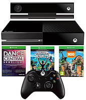 Xbox One 500Gb Kinect Sensor Bundle Zoo Tycoon Dance Central Kinect Sports Rivals Xbox One