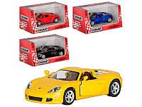 Машинка металлическая Porsche Carrera GT KT 5081 W Kinsmart, 4 цвета