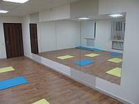 Зеркало в танцевальный зал, тренажерный зал
