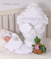 """Комплект на выписку """"Королевский набор"""" для новорожденного"""