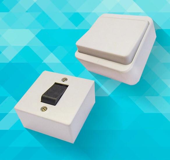 Настенные выключатели для наружной проводки