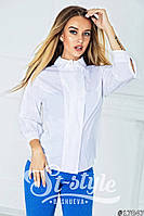 Женская блуза ткань поплин