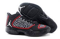Air Jordan XX9 Perfect Black White Gym red
