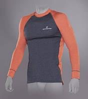 Outdoor Tracking Man Футболка с длинным рукавом мужская S серый/оранжевый