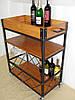 Передвижной сервировочный столик для вина