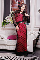 Donna-M платье IR Сетка , фото 1