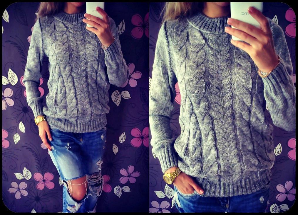 женский вязаный свитер 02 цена 340 грн купить в харькове Prom