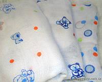 Марлевые муслиновые пеленки 80*80