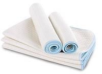 Непромокаемая пеленка односторонняя бамбук + прослойка непромокаемая дышащая мембрана