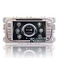Штатная магнитола Ford Silver Focus 2009-2001, Galaxy, Mondeo 2007-2014, S-Max  RedPower, фото 1