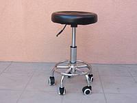Стул для мастера маникюра и педикюра без спинки (черная)