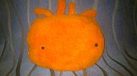 Теплое одеяльце и подушка, 2 в 1 - Человечек