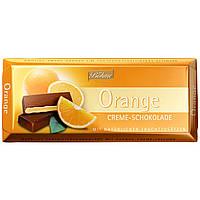 Шоколад черный  Böhme Orange Creme Schokolade с кремовой апельсиновой  начинкой, 100 г