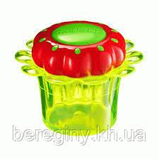 Детская Расческа Tangle Teezer Magic Flowerpot  - Желто-Зеленая