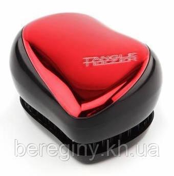 Tangle Teezer Compact - Красная металлик