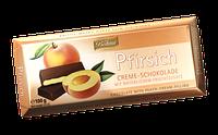 Шоколад черный Böhme Pfirsich Creme Schokolade с персиковой начинкой, 100 г