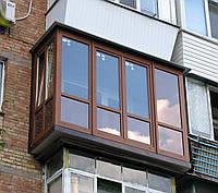 Французский балкон в хрущевке.