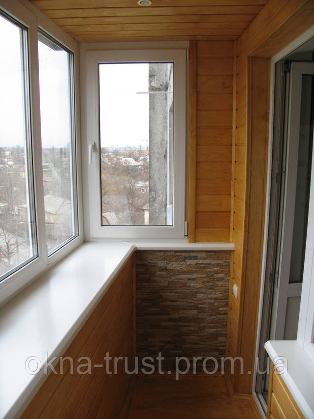 Отделка балкона внутренняя, внешняя..товары и услуги компани.
