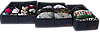 Комплект органайзеров для нижнего белья 3 шт ORGANIZE (джинс), фото 2