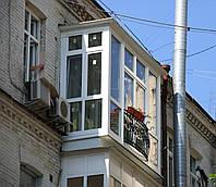 Французский балкон в сталинке.