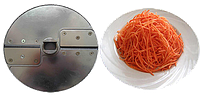 Нож для соломки 2х2 мм. (МПР-350М, МПО-1) морковки по-корейски