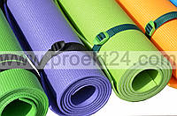 Коврик (каремат) для йоги, фитнеса, танцев Колибри (FI-0077)