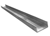 Швелер 32х25х2,5 алюминий АМцН