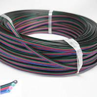 RGB луджений мідний дріт 22AWG 4pin 0,35мм2