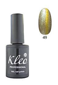 """Гель-лак для ногтей """"Кошачий глаз"""" Kleo Professional Chameleon Cat eye gel 3D effect Цвет 49"""