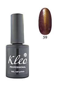 """Гель-лак для ногтей """"Кошачий глаз"""" Kleo Professional Chameleon Cat eye gel 3D effect Цвет 59"""