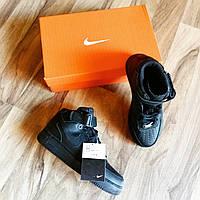 Nike air force black / черные