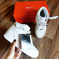 Nike air force высокие белые код 6