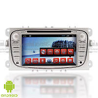 Штатная магнитола Ford Silver Focus 2009-2001, Galaxy, Mondeo 2007-2014, S-Max Android  RedPower