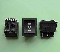 Переключатель клавишный трёхфазный 28,5 * 22,0 мм