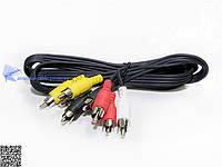 Аудио видео шнур 4 RCA-4RCA 1,2m