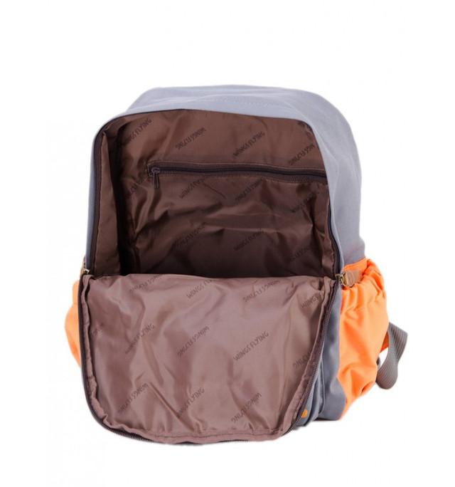 школьный рюкзак с мишкой