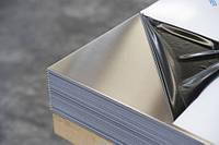Лист 3,0 мм AISI 430(12Х17) 2В+РЕ, фото 1