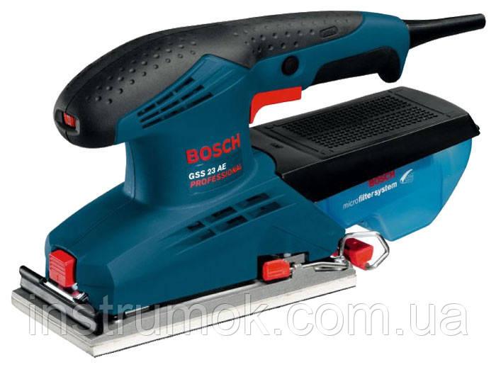 Виброшлифмашина Bosch GSS 23 A, 190 Вт