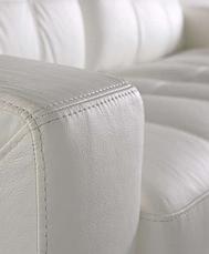"""Шкіряний прямий диван """"California"""" (Каліфорнія) (214 см), фото 2"""
