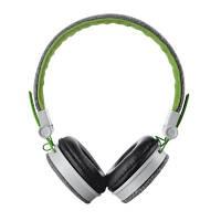 Наушники накладные с микрофоном Trust Urban Revolt Fyber Grey / Green (20080)