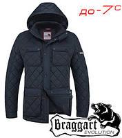 Зимняя стеганая мужская куртка элитная