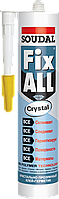 Клей-герметик FIX ALL CRYSTAL  290 мл