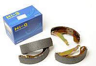 Колодки тормозные задние (барабанные)Daewoo Lanos, Sens (SA055-NEW) (Hi-Q)