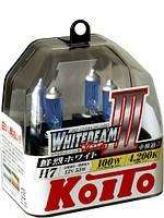 Автолампы Koito WhiteBeam III, 4200K, H7, 2шт., P0755W